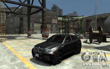 BMW X6 M pour GTA 4