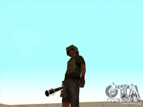 New Weapons Pack pour GTA San Andreas cinquième écran