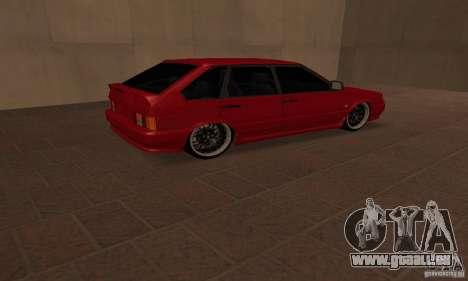 ВАЗ 2114 Dag Style pour GTA San Andreas sur la vue arrière gauche