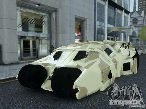 HQ Batman Tumbler pour GTA 4