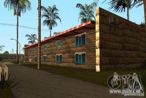 Neue Texturen der Häuser an der Grove Street für GTA San Andreas her Screenshot