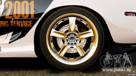 Toyota Supra Top Secret für GTA 4 obere Ansicht
