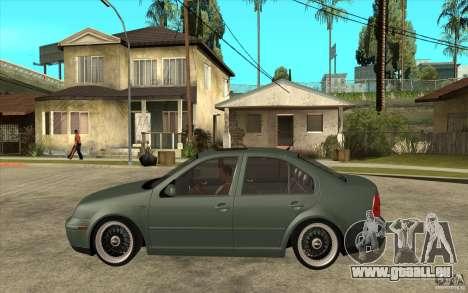 VW Bora für GTA San Andreas linke Ansicht