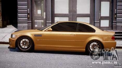 BMW M3 E46 Tuning 2001 v2.0 pour GTA 4 est une gauche