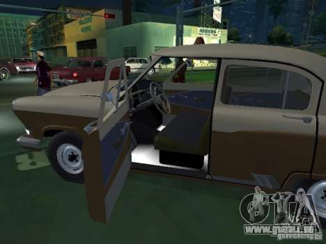 GAS-M21T-Taxi für GTA San Andreas Seitenansicht