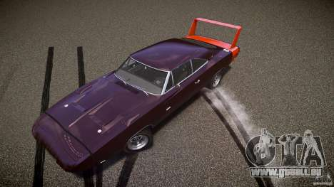 Dodge Charger Daytona 1969 [EPM] pour GTA 4 roues