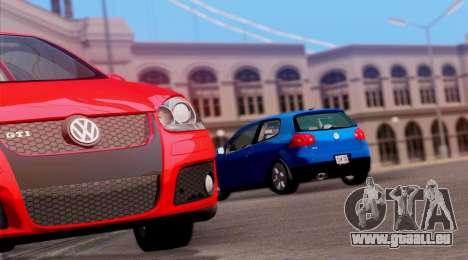 VW Golf V GTI 2006 pour GTA San Andreas vue de droite