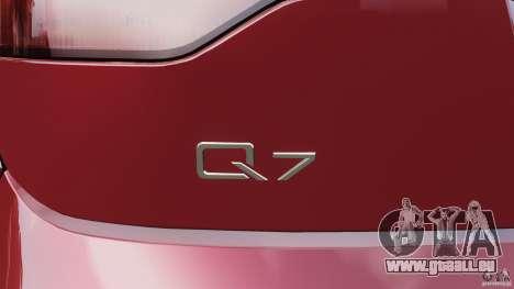 Audi Q7 V12 TDI v1.1 für GTA 4 Innen