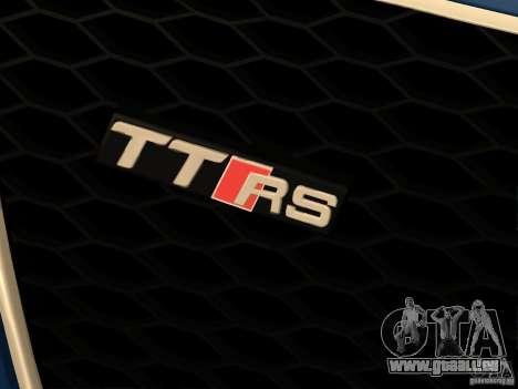 Audi TT RS pour GTA San Andreas vue de côté