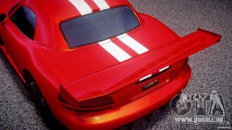 Dodge Viper RT 10 Need for Speed:Shift Tuning pour GTA 4 est une vue de l'intérieur