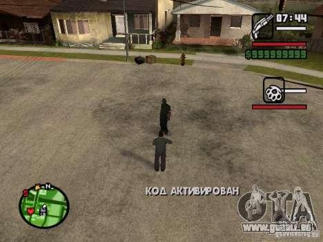 Refill HP und Rüstung der zweite Spieler v1. 0 für GTA San Andreas dritten Screenshot