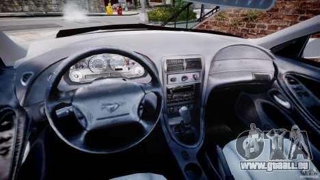 Ford Mustang SVT Cobra v1.0 für GTA 4 Rückansicht