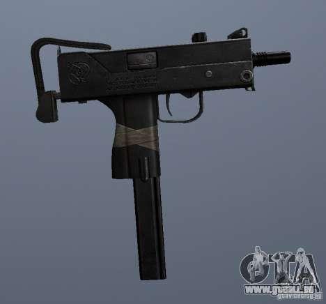 MAC10 pour GTA San Andreas quatrième écran