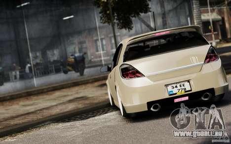 Opel Astra pour GTA 4 est un côté