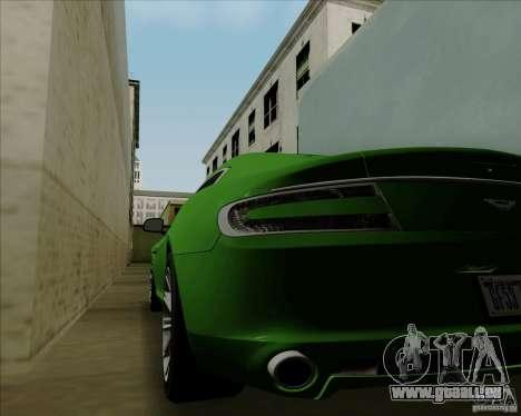 Aston Martin Rapide 2010 V1.0 pour GTA San Andreas vue arrière