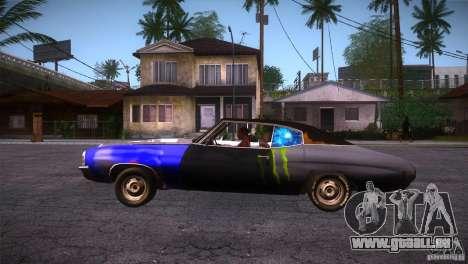 Chevrolet Chevelle SS DC pour GTA San Andreas laissé vue