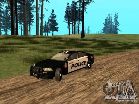 Dodge Charger Canadian Victoria Police 2011 pour GTA San Andreas