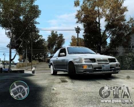 Ford Sierra RS500 Cosworth v1.0 für GTA 4 linke Ansicht