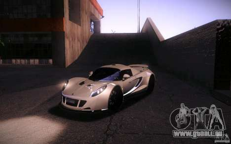Hennessey Venom GT 2010 V1.0 für GTA San Andreas Seitenansicht