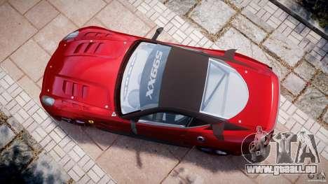 Ferrari 599 XX pour GTA 4 est un droit
