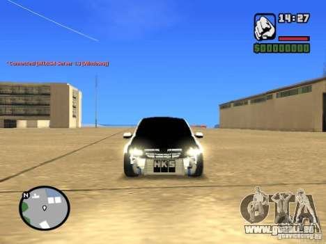 Style de Grant JDM VAZ 2190 pour GTA San Andreas vue de droite