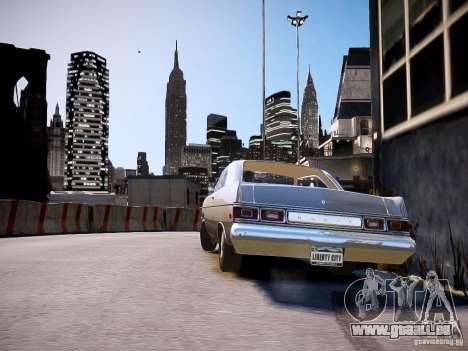 Dodge Dart 1975 für GTA 4 linke Ansicht