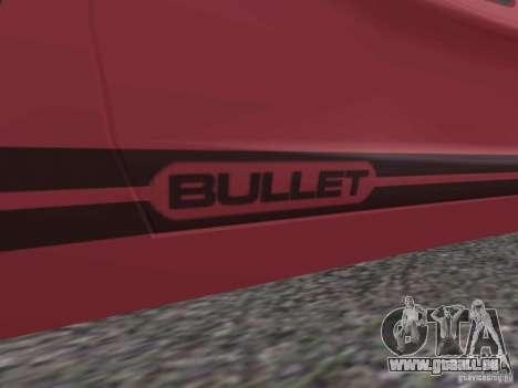Bullet HQ pour GTA San Andreas laissé vue