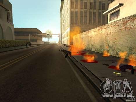 Inländischen Waffen-Version 1.5 für GTA San Andreas