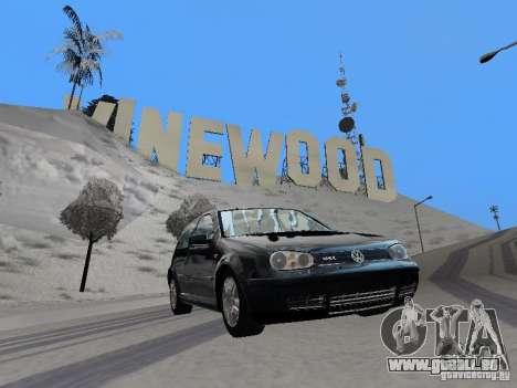 Volkswagen Golf 4 GTI für GTA San Andreas