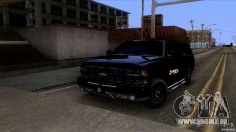 Chevrolet Suburban 2003 v2 pour GTA San Andreas laissé vue