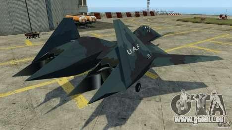 ADF-01 Falken pour GTA 4 Vue arrière de la gauche