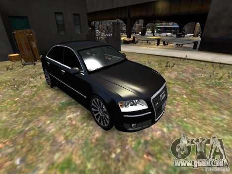 Audi A8L W12 pour GTA 4 est un côté