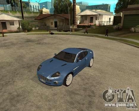 Aston Martin Vanquish für GTA San Andreas linke Ansicht