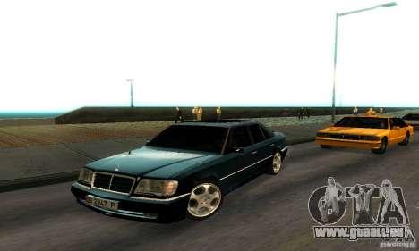 Mercedes-Benz W124 E420 AMG pour GTA San Andreas laissé vue
