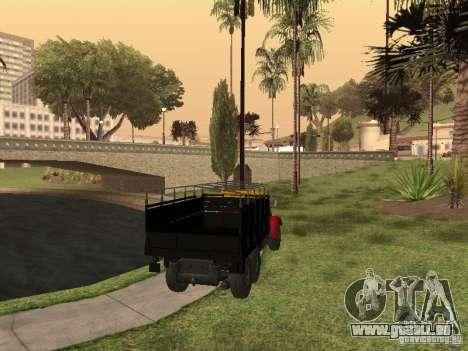 YAZ 214 pour GTA San Andreas laissé vue