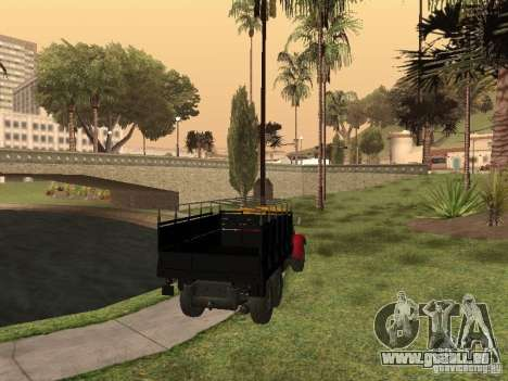YAZ 214 für GTA San Andreas linke Ansicht