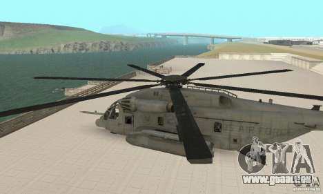 Sikorsky MH-53 für GTA San Andreas rechten Ansicht