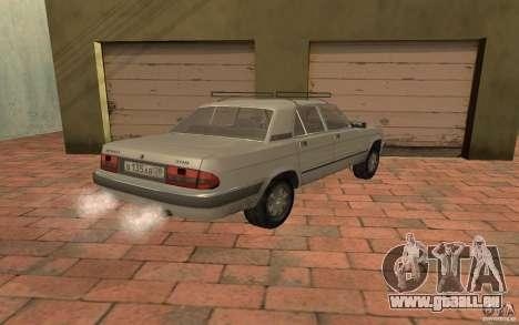 GAZ 3110 für GTA San Andreas linke Ansicht