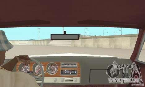 Pontiac LeMans 1971 für GTA San Andreas Rückansicht