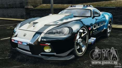 Dodge Viper SRT-10 ACR ELITE POLICE für GTA 4