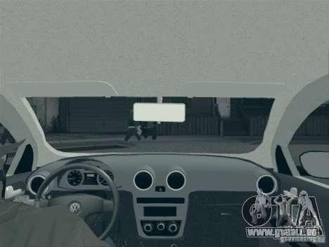 Volkswagen Saveiro 1.6 2009 pour GTA San Andreas vue de dessus