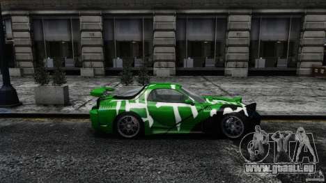 Mazda RX-7 Bushido für GTA 4 linke Ansicht