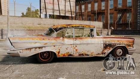 Chevrolet Bel Air 1957 Rusty pour GTA 4 est une gauche