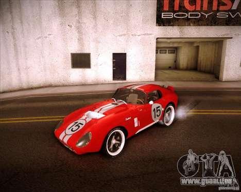 Shelby Cobra Daytona Coupe 1965 pour GTA San Andreas