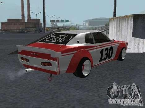 Nissan Laurel C 130 Bosozoku pour GTA San Andreas laissé vue