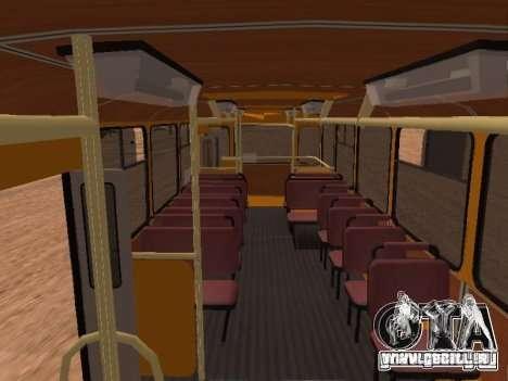 Nouveaux scripts pour les autobus. 2.0 pour GTA San Andreas quatrième écran