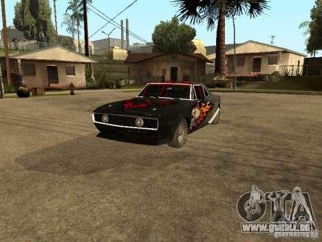 Chevrolet Camaro SS Dragger pour GTA San Andreas