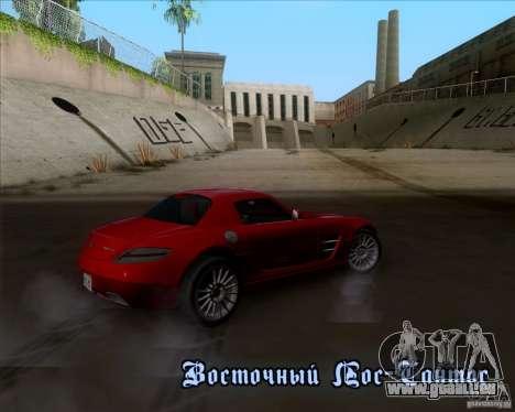 Mercedes-Benz SLS AMG V12 TT Black Revel pour GTA San Andreas salon