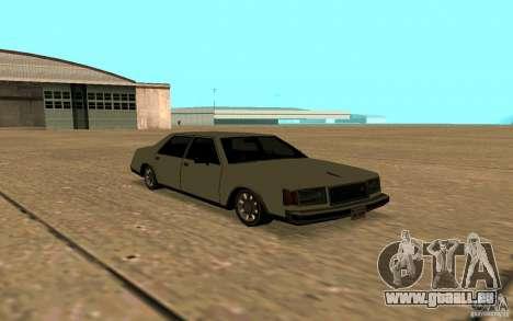 FBI Washington für GTA San Andreas Seitenansicht