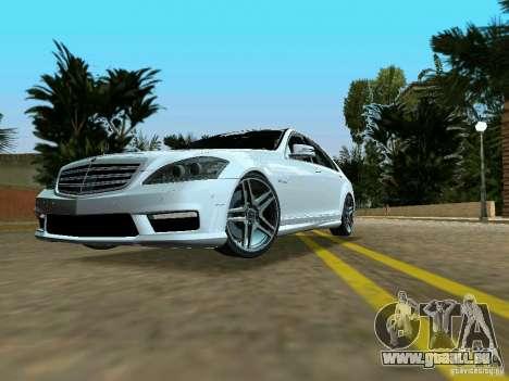Mercedes-Benz S65 AMG 2012 pour GTA Vice City